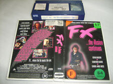 Vhs *FX* Rare 1995 Rockvale Films Issue - Cameron Daddo - Action Thriller D2