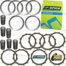 Apico Clutch Kit Steel Friction Plates & Springs For Suzuki RM 250 2001 MotoX