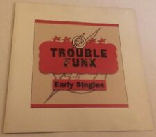 TROUBLE FUNK Early Singles CD 1997 go-go 1980s Infinite Zero EU-pressing