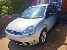 2005 Ford Fiesta Zetec Mk6 1.4 Petrol Manual 3dr Vitro Green
