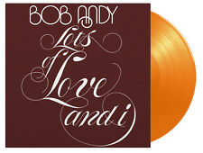 Bob Andy Lots of Love and I 180g Orange Coloured Vinyl LP Record