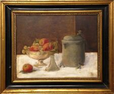 STILL LIFE WITH PITCHER AND FRUITS