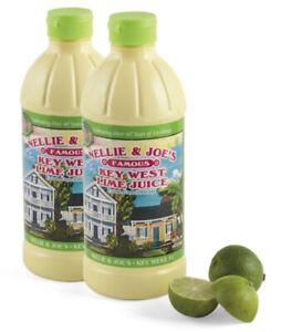 Nellie & Joes Juice Key West Lime,  4 Pack 16 ounces
