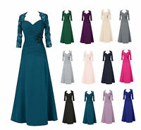 Plus Size Long Mother of the Bride Dresses Formal Evening Party Dresses