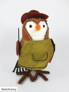 2021 GRADEY Birdwatcher Fabric Harvest Bird Hyde & Eek Boutique Figurine Target