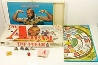 1984 Vtg Board Game THE A-TEAM BA Lends a Hand Mr T 99% Complete GUC