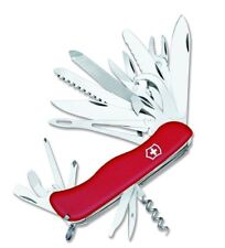 NEW SWISS ARMY 53771 RED LARGE VICTORINOX WORKCHAMP XL RED MULTI TOOL KNIFE