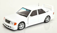 MERCEDES BENZ 190E EVOLUTION  WHITE 1:18 SCALE MODEL GOOD DETAIL CLASSIC DIECAST