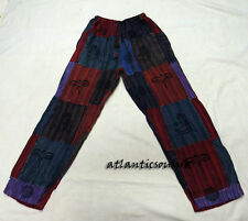 T558 L Multi patched cotton unisex men homemade print gift Casual Trouser Nepal