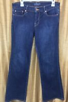 Lucky Brand Womens Dark Wash Jeans Sweet N Low Boot Cut Size 8/29