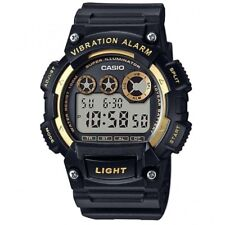 Casio W-735H-1A2V Black Gold Illuminator Men's Digital Sports Watch