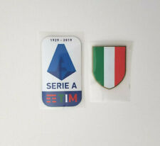 Official Serie A TIM 2018/19 Football Shirt patch badge Calcio Ronaldo Juventus