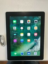 Apple iPad 4th Generation 16GB Wi-Fi, 9.7in Black Silver tablet  NICE  (GRADE B)