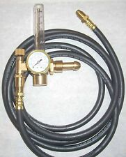 Argon CO2 Flowmeter Mig Tig Welding Regulator w 10' Inert Gas Hose