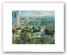 View of the Tuileries Gardens Claude Monet Art Print 14x11