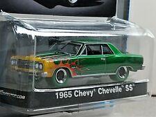 GreenLight GREEN MACHINE 1965 Chevy Chevelle SS Midnight Edition ULTRA RARE 1/48