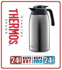 Thermos 2L 2.0L Vacuum Insulated Stainless Steel Coffee Tea Jug Pot Flask Carafe