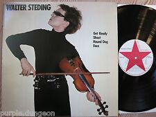 WALTER STEDING - Walter Steding  Vinyl LP  → New York CBGB's  1 track with Fripp