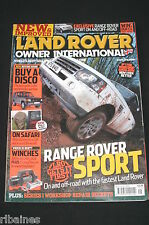Land Rover Owner International May 2005, Discovery 1 Guide/Range Rover Sport