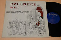 DAVE BRUBECK OCTET LP TOP JAZZ ORIG USA FANTASY LABEL NM COVER ARNOLD ROTH !!!!