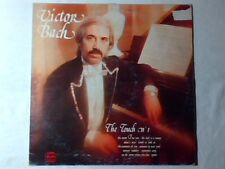 VICTOR BACH The touch n. 1 lp RARISSIMO LIBRARY PINK VINYL KURT WEILL