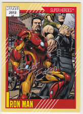 2013 Marvel Fleer Retro auto autograph card Impel(2) 11 Scot Eaton RARE