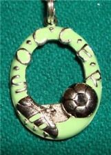 sterling silver soccer ball shoe picture frame pendant