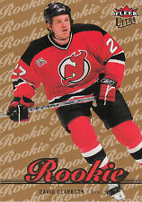07-08 Fleer Ultra David Clarkson Gold Medallion Rookie