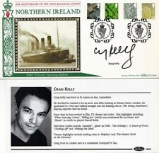14 OCTOBER 2003 ALL 4 NI DEFINITIVES SIGNED CRAIG KELLY BENHAM FIRST DAY COVER