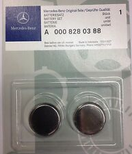 Genuine Mercedes-Benz  Remote Key Fob Batteries (Battery Set of 2 ) A0008280388