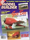 MODEL BUILDER Magazine May 1992 Gee-Bee R-1/R-2 Hybrid: FF CO2 Scale