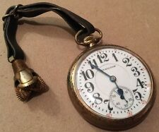 1925 Hamilton RailRoad Pocket Philly Watch Case 992 21 Jewel Double Roller 16S
