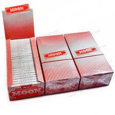 3 box 50 booklets Moon Red Cigarette Tobacco Rolling Papers 70*36mm 7500 leaves