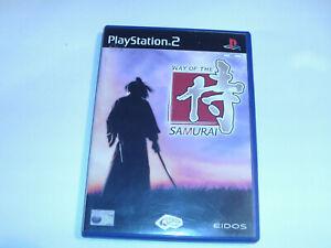 samurai warriors & way of the samurai     ps2 pal region 2