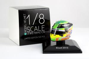 Spark 1/8 Scale Lewis Hamilton Mercedes AMG Petronas 2013 Helmet  Brazil 1