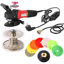 "Wet Polisher Grinder 2"" Stone Concrete Full Bullnose Diamond Pads V50WVPOLSET220"