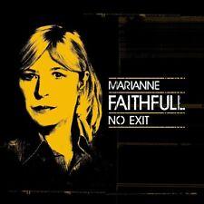 MARIANNE FAITHFULL - NO EXIT   BLU-RAY+CD NEW