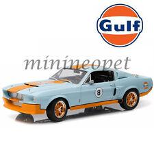 GREENLIGHT 12954 GULF OIL 1967 FORD SHELBY GT500 GT 500 #8 1/18 LIGHT BLUE