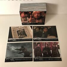 HARRY POTTER & THE PRISONER OF AZKABAN UPDATE EDITION Complete Card Set (91-180)