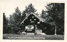 Nr.22461 Foto PK St. Oswald bei Freistadt Braunberghütte gel. 1961  O.Ö.