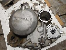 kawasaki KLX650 KLX 650 right engine clutch cover case crank case 93 1993 1994
