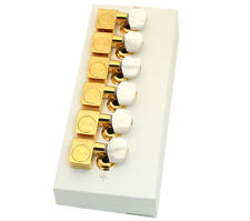 Fender Gold Pearloid Button Standard Tuners for Strat/Tele 099-0820-2PL