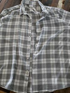 Soft Checked Print ASOS Shirt Size 4XL BNWT