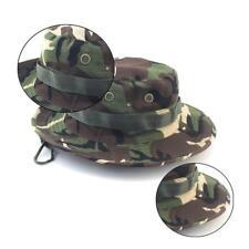 Multicam Boonie Bucket Bush Jungle Hat Wide Brim Army Military Sun Cap Cade F4K6