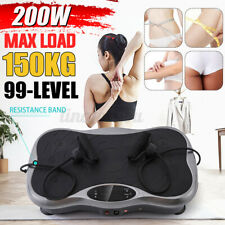 99-Level Exercise Fitness Slim Vibration Platform Machine Trainer Body 200W