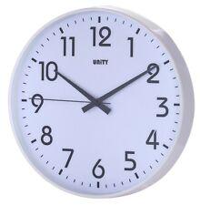 Unidad fradley Silent Sweep non-ticking Reloj De Pared 12 Pulgadas 30cm