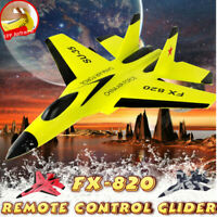 RC Toy Remote Control Aircraft Plane Fighter Jet Wing Airplane Xmas Gift 2.4G