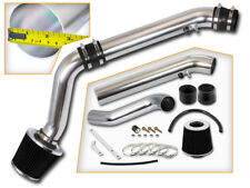 BCP BLACK 96-98 Civic HX EX 1.6L L4 Cold Air Intake Racing System + Filter
