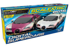 SCALEXTRIC C1322 1:32 SCALE DIGITAL SUPERCARS SET *NEW* (27/OS)