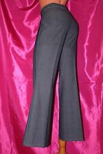 NEXT wool mix regular fit boot cut grey trousers size 10